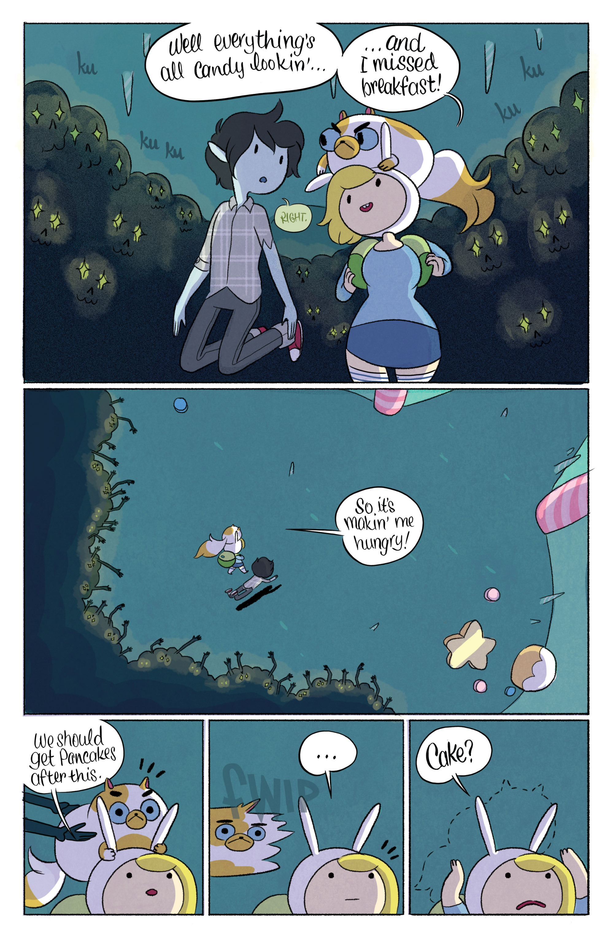 Read online Adventure Time with Fionna & Cake comic -  Issue #3 - 13