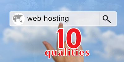 Top ten web hosting quality