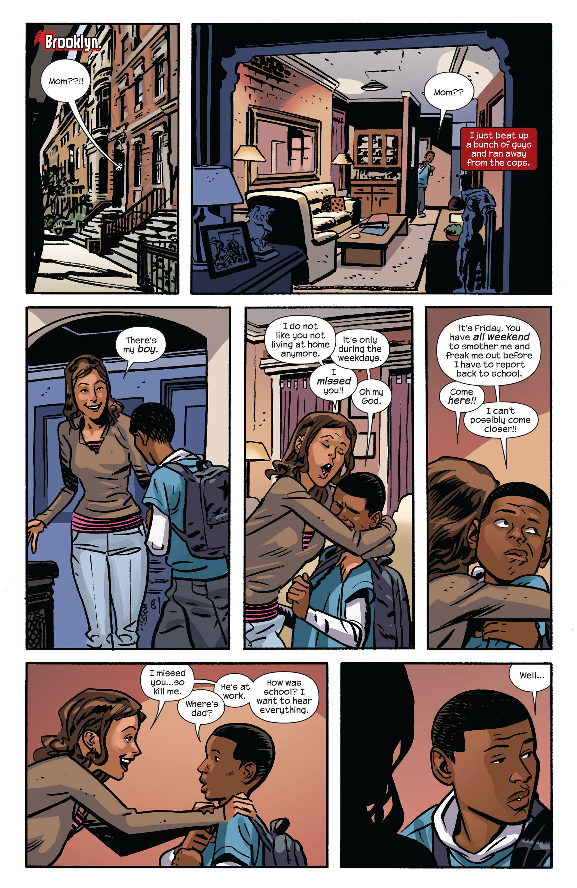 Read online Ultimate Comics Spider-Man (2011) comic -  Issue #6 - 14