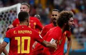 Belgium vs Japan: Chadli's late goal seals 3-2 victory