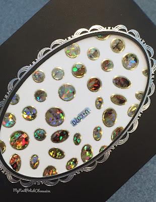 Born Pretty Store; Star Shell Glass Stickers