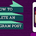 How to Delete Post In Instagram