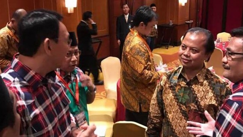 Ahok-Djarot protes telatnya acara ke Ketua KPU DKI Sumarno