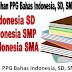 Unduh Soal Latihan PPG Bahasa Indonesia, SD, SMP, Dan SMA 2018