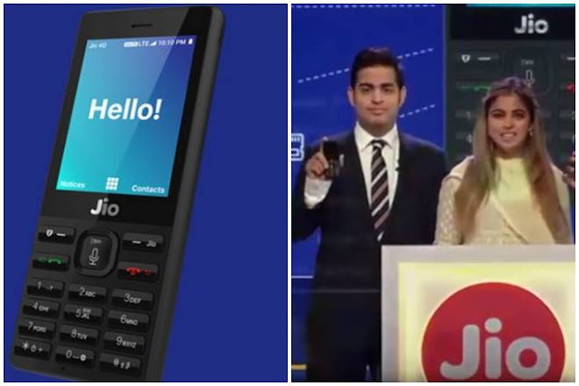 JioPhone will be available for user testing in beta form from August 15 and for pre-booking from August 24.