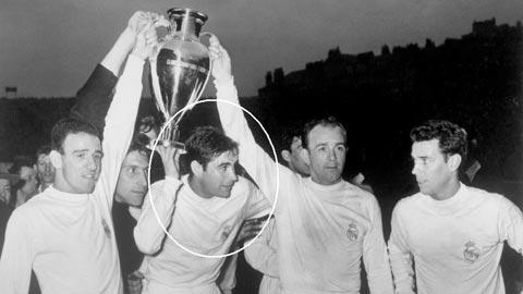 Ông nội Marcos Alonso là cầu thủ vĩ đại Real