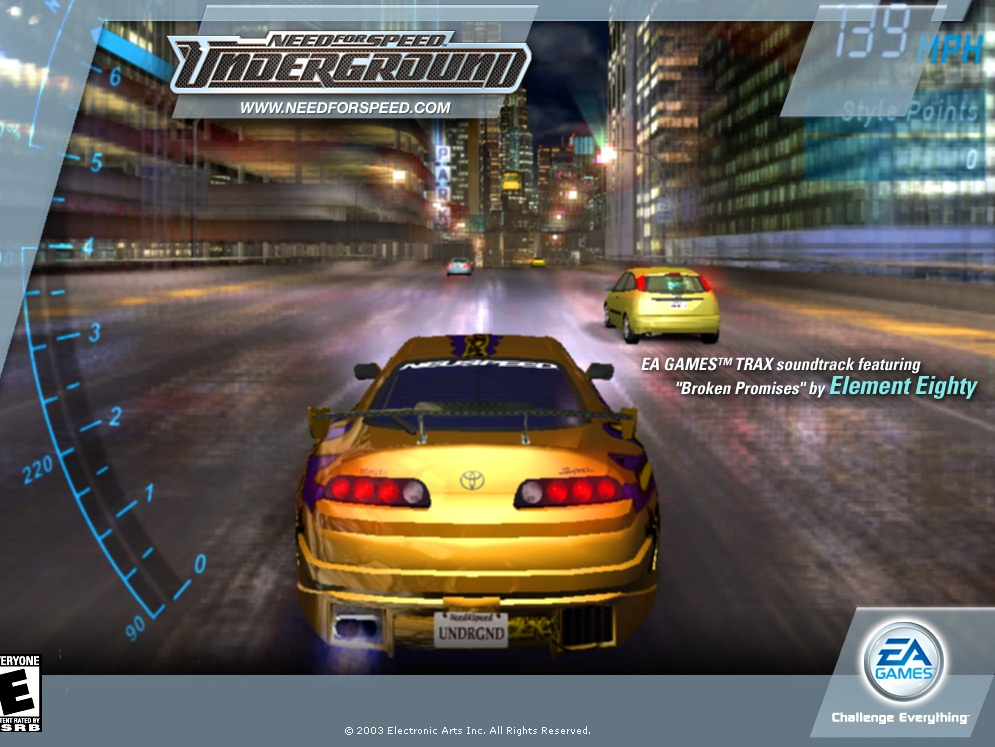 Download NEED FOR SPEED UNDERGROUND 1 PC Game Full Version ...