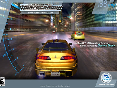 NEED FOR SPEED UNDERGROUND WALLPAPERS AND PICS SCREEN SHOTS Download Links