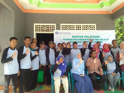 Lima Petani Desa Mojopahit Lampung Tengah Ikuti  Pelatihan Teknologi Hazton