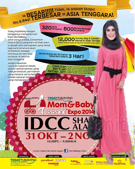 Mom & Baby Expo 2014 di IDCC Shah Alam