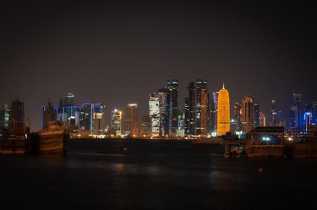 The Corniche; Doha, Qatar