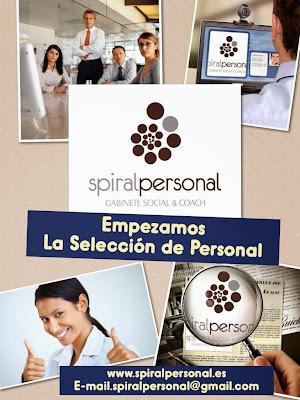 SPIRAL PERSONAL.GABINETE SOCIAL & COACH. INICIO DE LA SELECCIÓN DE PERSONAL