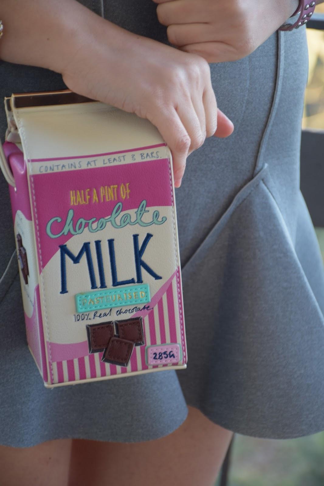 borsa cartone latte accessorize