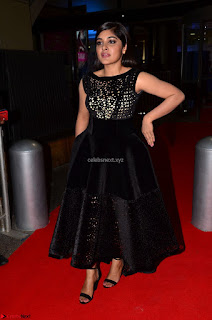 Niveda Thomas Black Sleeveless Cute Dress at 64th Jio Filmfare Awards South 2017 ~  Exclusive 045.JPG