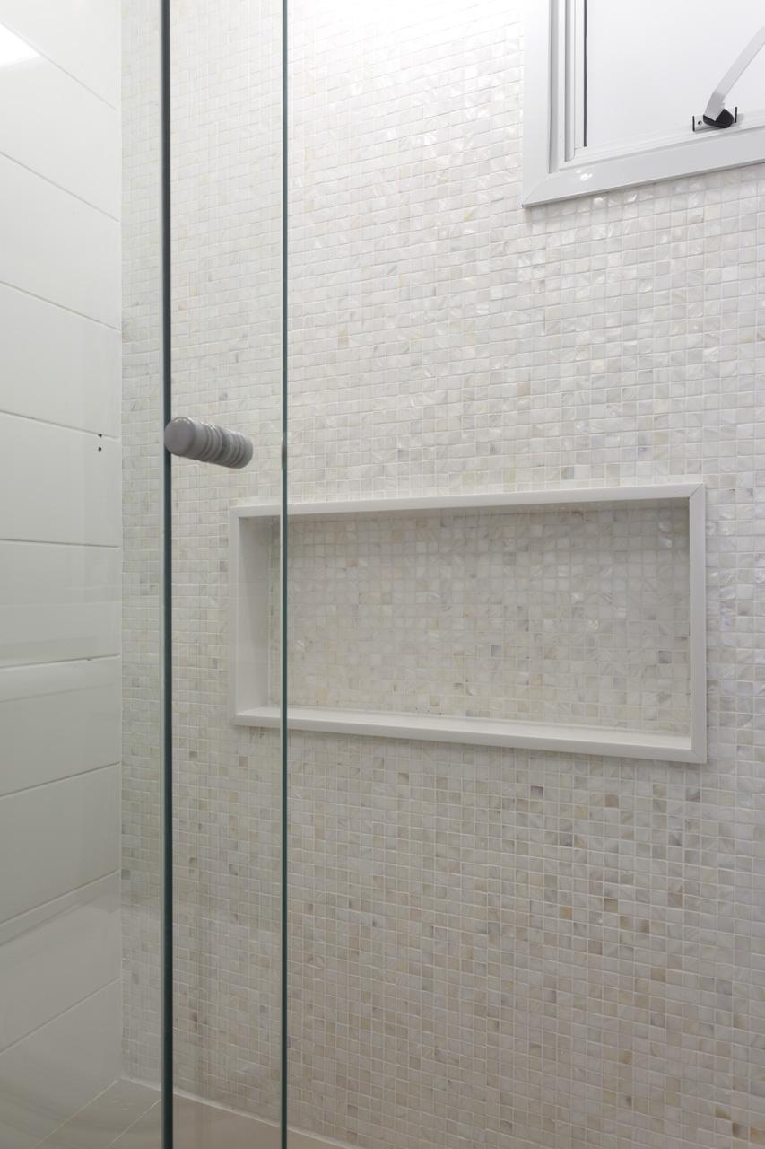 Minuto Da Arquitetura NIchos no box do banheiro -> Acabamento Nicho Box Banheiro