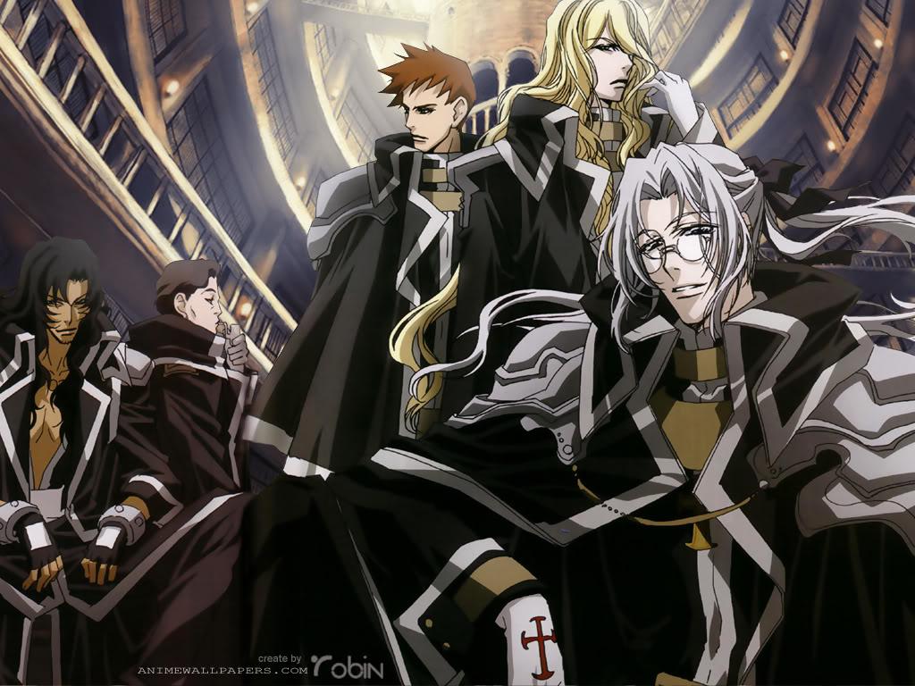 Kết quả hình ảnh cho Trinity Blood anime