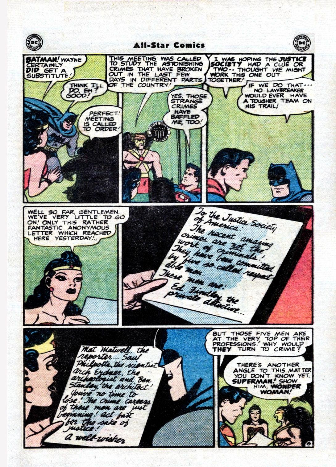 Read online All-Star Comics comic -  Issue #36 - 8