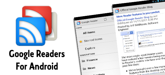 Google Readers For Android