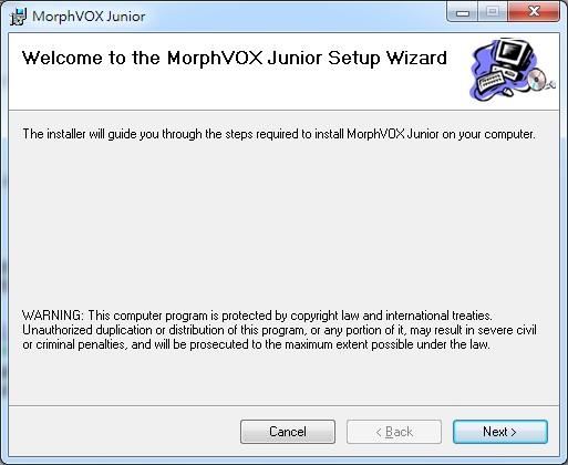 變聲器軟體 MorphVOX Junior 作出男聲女聲的特效變化