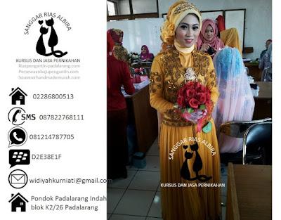 Biaya sewa baju pengantin muslimah