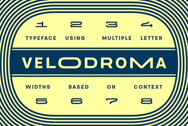 Velodroma_Free_Font