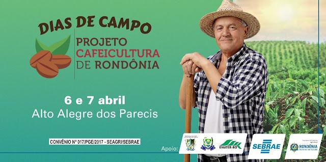 Sebrae em parceria com o Governo do estado realizará dois dias de campo em Alto Alegre dos Parecis