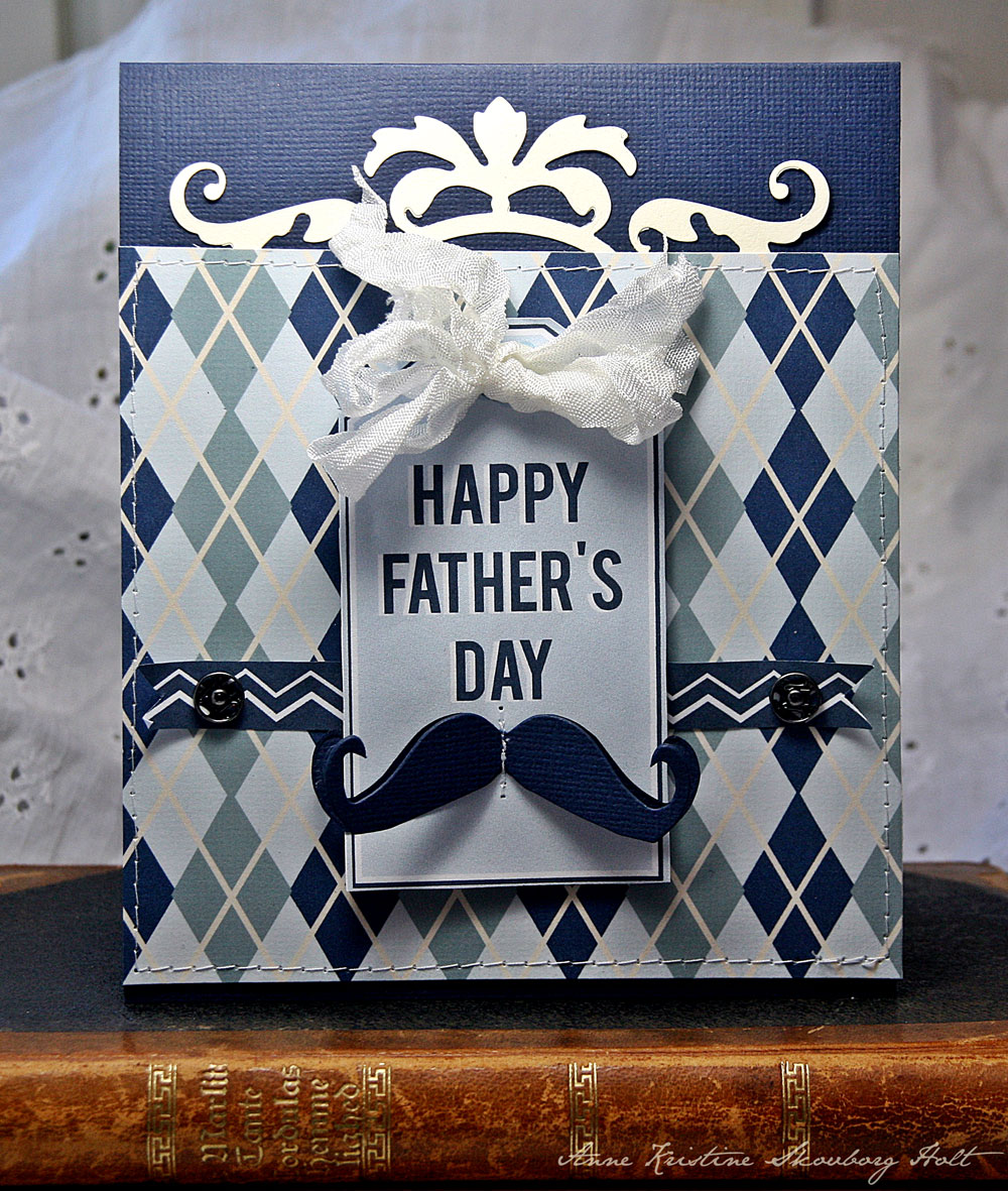 Crafting ideas from Sizzix UK: Happy Father's Day Card