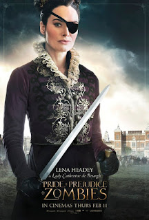 lena headey,傲慢與偏見與殭屍,Pride and Prejudice and Zombies