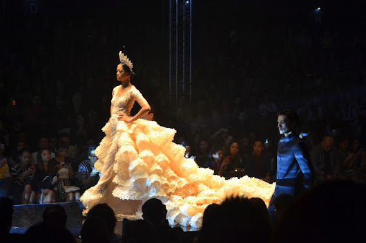 Philippine Fashion Week Holiday 2013 Day 1: MICHAEL CINCO
