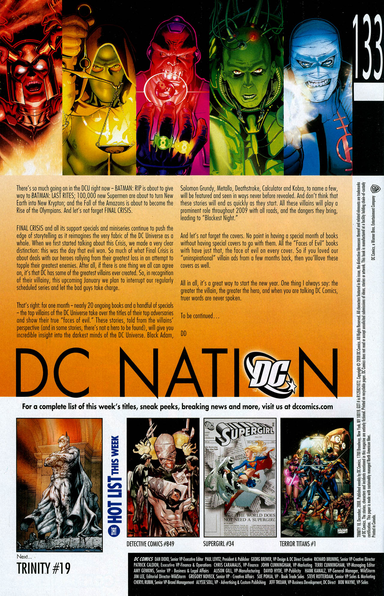 Read online Trinity (2008) comic -  Issue #18 - 33