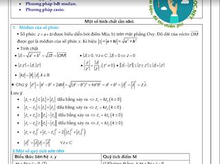 Dạng bài toán tìm min và max của số phức vận dụng cao