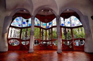 Окна из дерева в стиле ар нуво