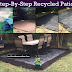 EASY DIY Recycled Rubber Patio