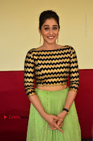 Actress Regina Candra Latest Pos in Green Long Skirt at Nakshatram Movie Teaser Launch  0145.JPG