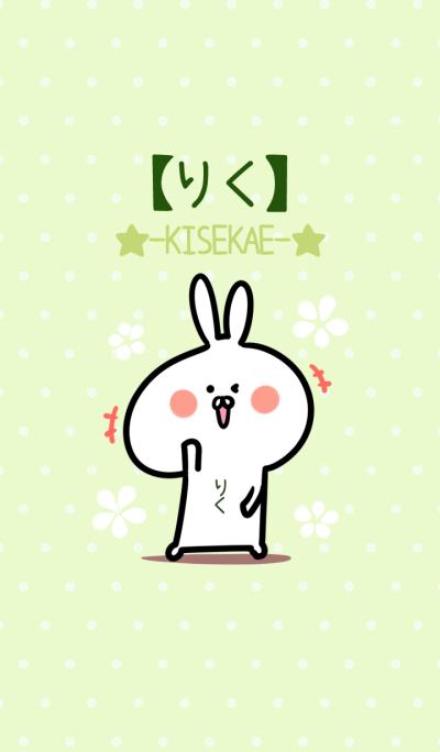 Riku usagi green Theme
