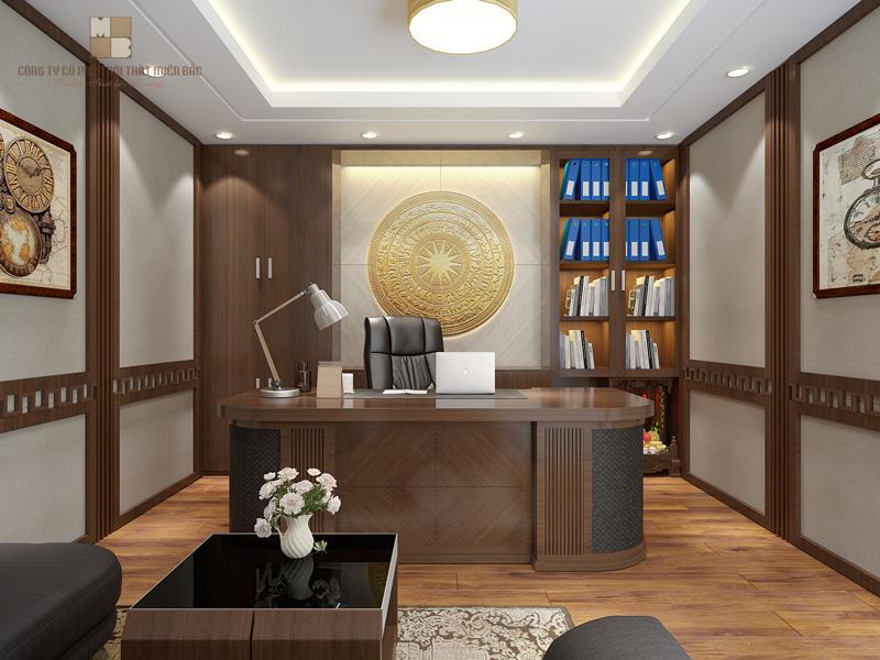 Nguyên tắc thiết kế nội thất phòng giám đốc đẳng cấp - H2