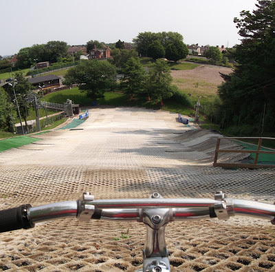 Picture of the dry slope at Telford Ski Centre