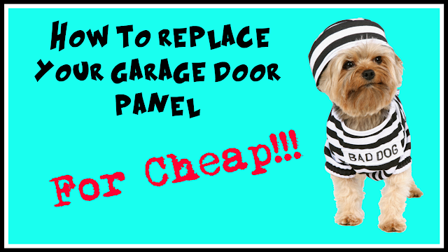 Title Image - Repair your garage panel cheaply.