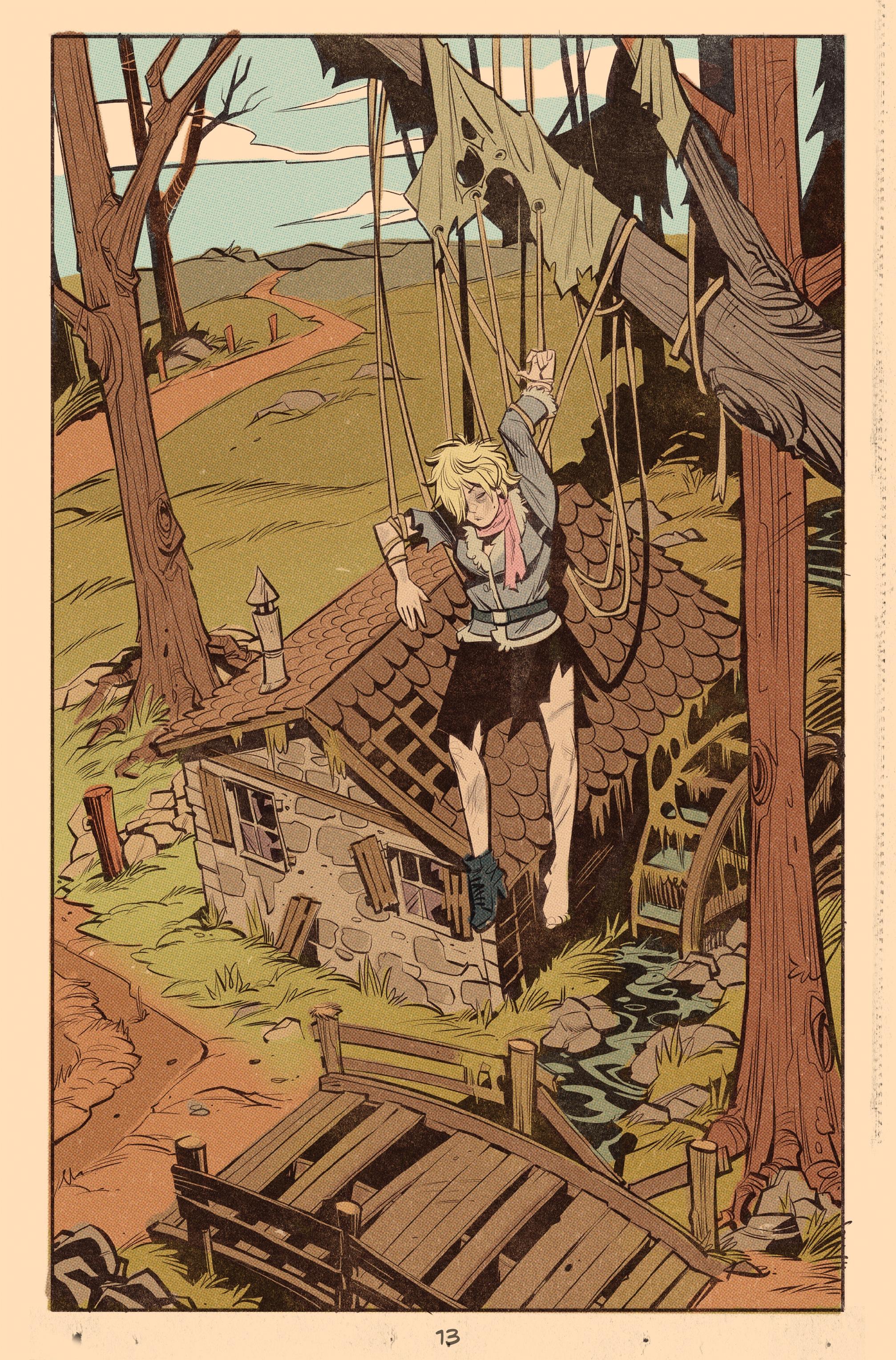 Read online Tank Girl: World War Tank Girl comic -  Issue #3 - 14