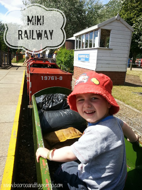 Mini Railway - Pleasurewood Hills, Lowestoft