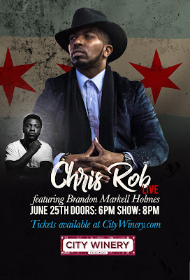 Chris Rob Live City Winery Chicago on June 25