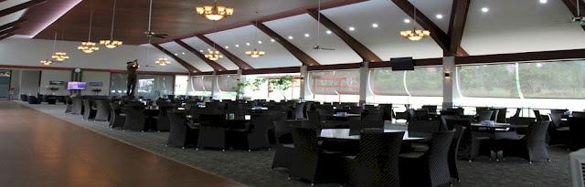 Inside view of Restaurant, Padang Golf Sukajadi