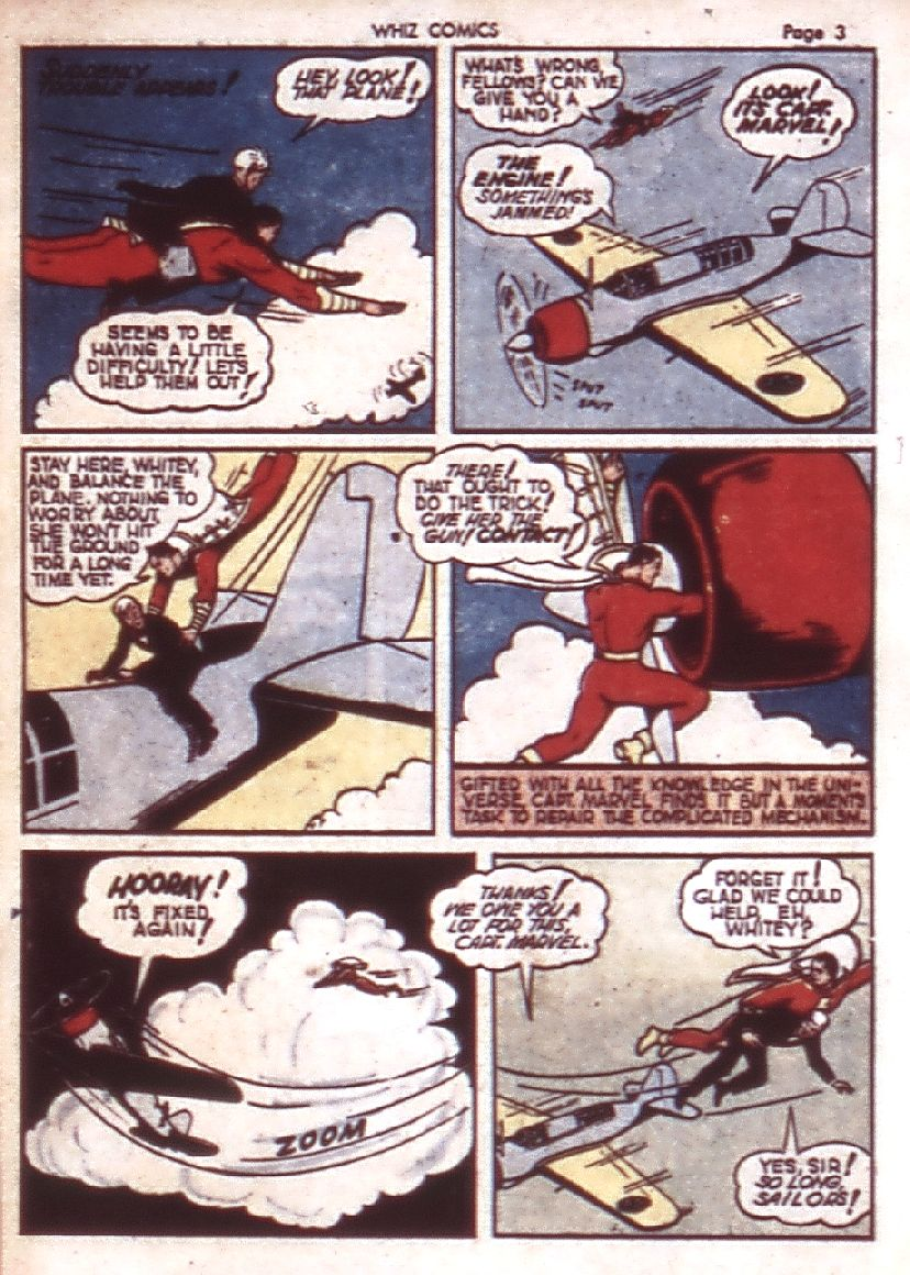 WHIZ Comics issue 23 - Page 5