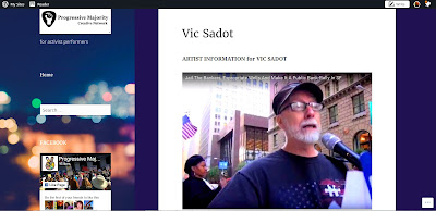 Vic Sadot Artist Profile at Progressive Majority Creative Network