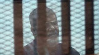 تأجيل إعادة محاكمة مرسي في قضية الهروب من السجن إلى 4 سبتمبر 2018