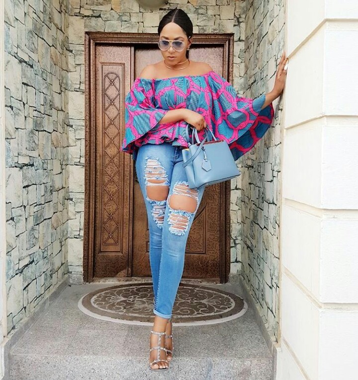 Judy Kaze Blog Rukky Sanda Stepped Out In Style Rocking