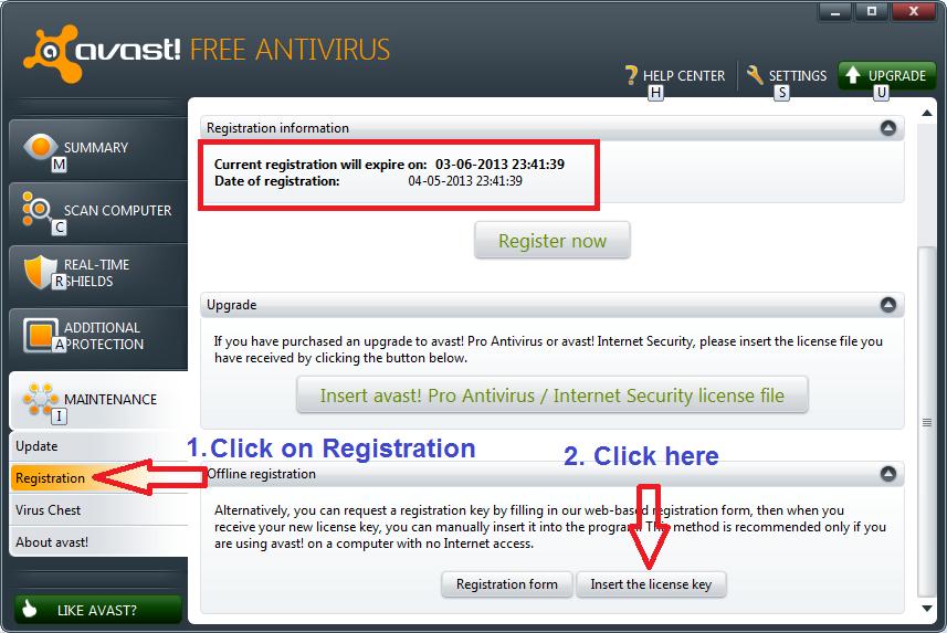 Avast Pro Antivirus Activation Code 2014 Free Download