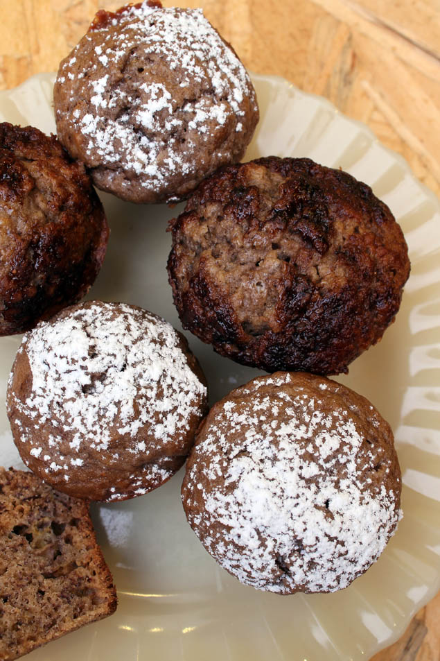 muffins banana sin manteca