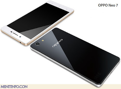 Spesifikasi Lengkap Oppo Neo 7